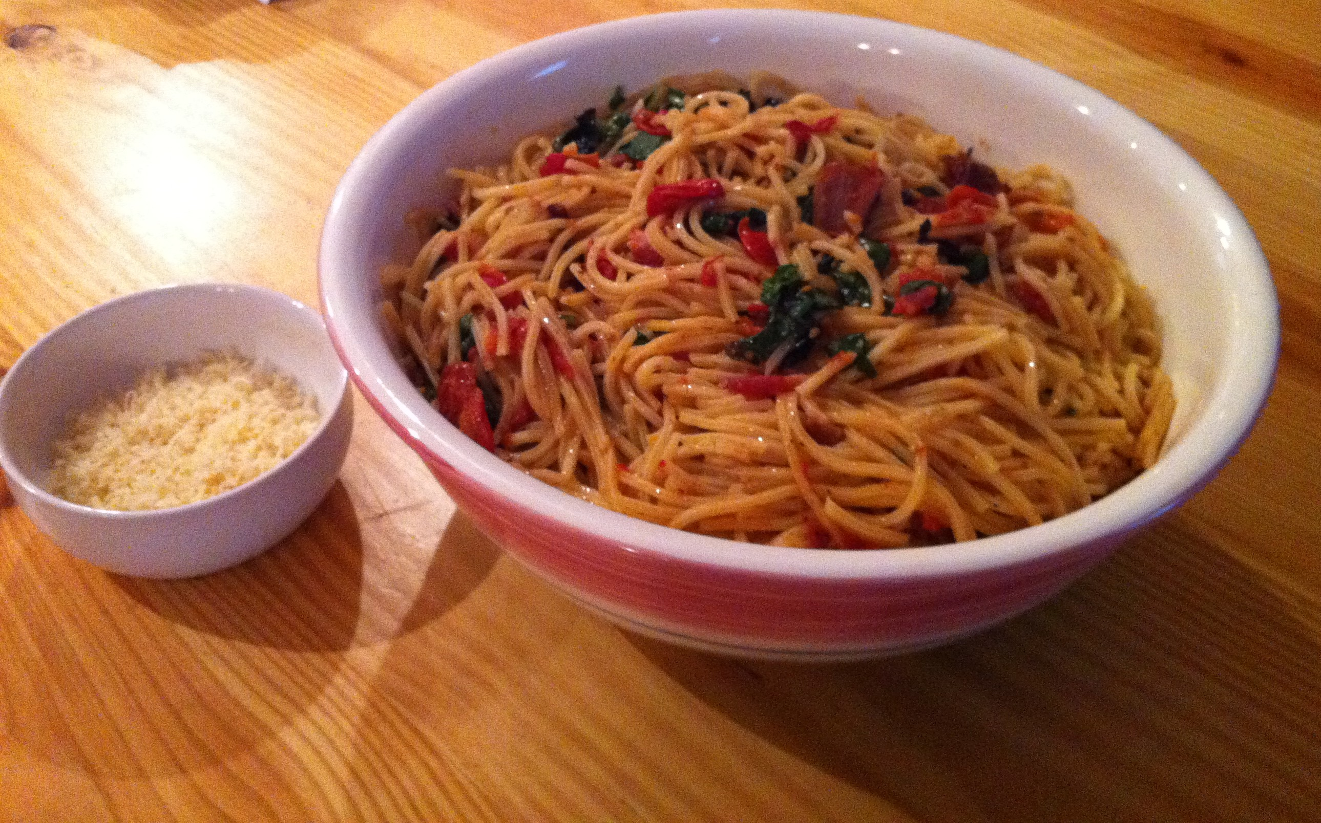 ... linguine with clams and chorizo ramp and scallop linguine linguine